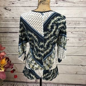 Anthropologie Tops - Anthropologie-Deletta-Floral Button Front Blouse